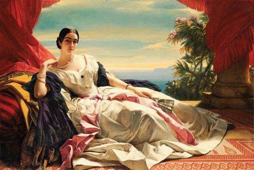 Franz Xaver Winterhalter - Princess Leonilla of sayn-Wittgenstein