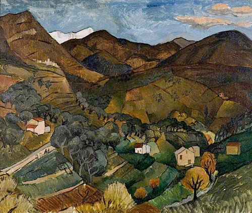 Christopher Wood - Landscape, Vence