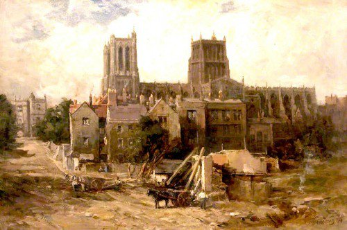 Francis Abel William Taylor Armstrong - Bristol Cathedral