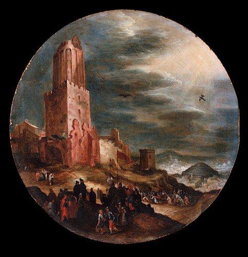 Jan Brueghel the Elder - Road to Golgotha