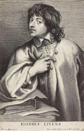 Lucas Vorsterman - Jan Lievens the Elder (after Anthony van Dyck)