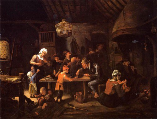 Jan Steen - The Lean Kitchen