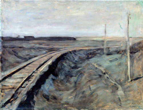 Isaak Levitan - Railroad