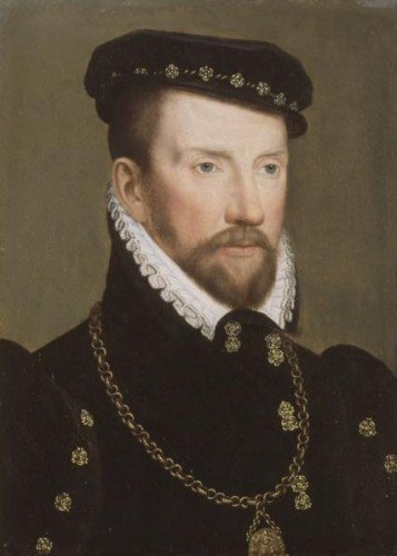 Franҫois Clouet - Admiral Gaspard II de Coligny
