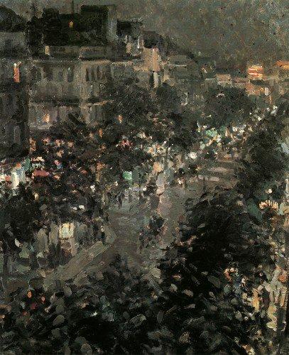 Constantin Alexeevich Korovin - Boulevard des Italiens, Paris