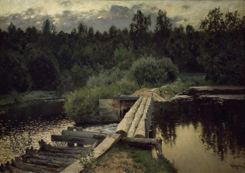 Isaak Levitan - By the Whirlpool