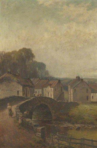 George Wright - Village Scene