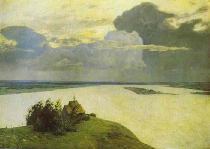 Levitan, Isaac - Above the Eternal Peace