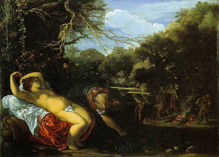 Elsheimer, Adam - Apollo and Coronis