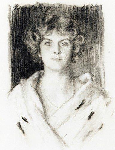 John Singer Sargent - Mrs. Theodore Frothingham, Jr (nee. Eleanor Fabyan)