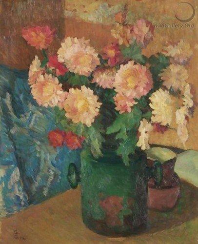 Giovanni Giacometti - Chrysanthemum