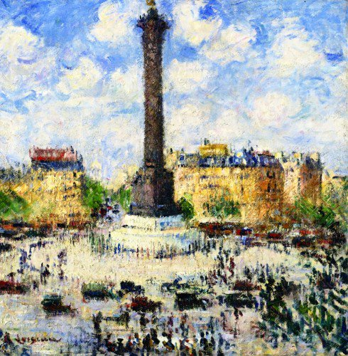Gustave Loiseau - La Place de la Bastille