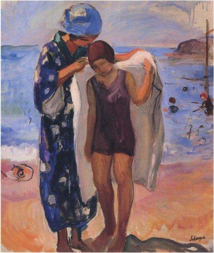Henri Lebasque - By the Beach