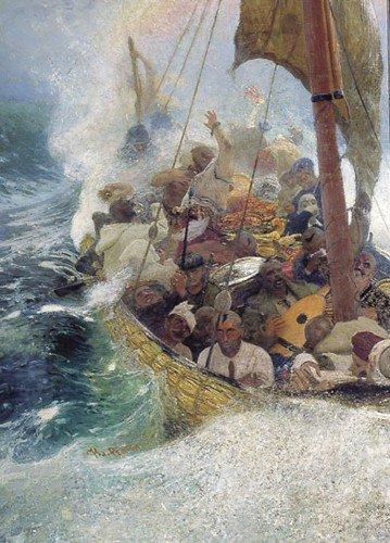 Ilia Efimovich Repin - Cossacks on the Black Sea