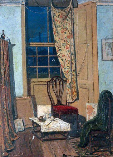 James Dickson Innes - The Corner of a Room