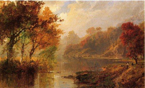 Jasper Francis Cropsey - Autumn Landscape