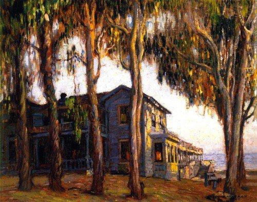 Joseph Kleitsch - Old Hotel Laguna