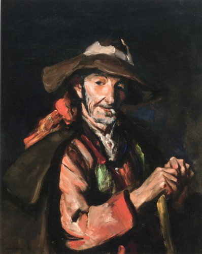 Robert Henri - Old Spaniard