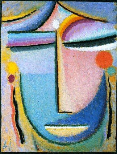 Alexei von Jawlensky - Large Abstract Head