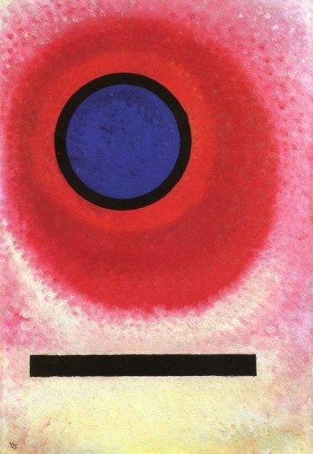 Wassily Kandinsky - Blue Circle II