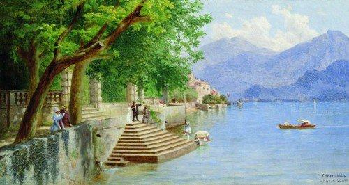 Fedor Bronnikov - On the Lake