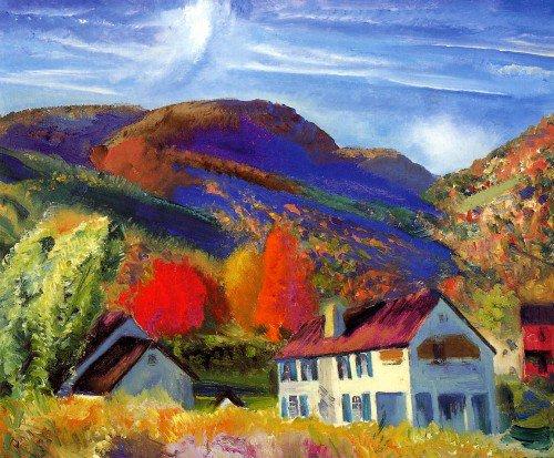 George Wesley Bellows - My House, Woodstock