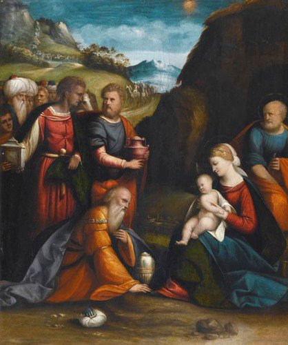 Il Garofalo - Adoration of the Magi