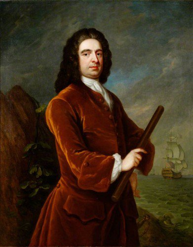 Charles Philips - Admiral Edward Vernon (1684–1757)