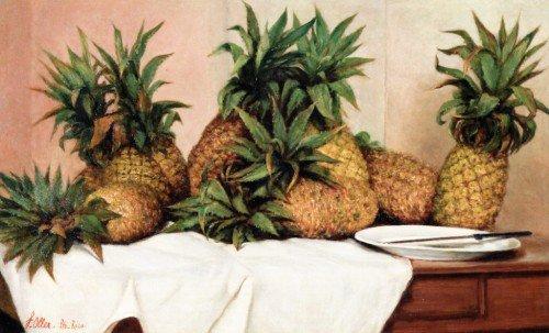 Francisco Oller - Pineapples