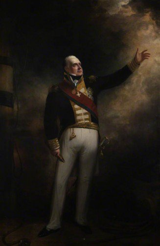 Sir William Beechey - Admiral Edward Pellow, 1st Viscount Exmouth