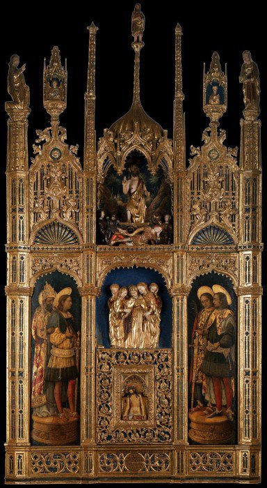 Vivarini, Antonio - Polyptych of the Body of Christ