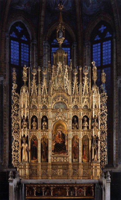 Vivarini, Antonio - Polyptych of the Virgin