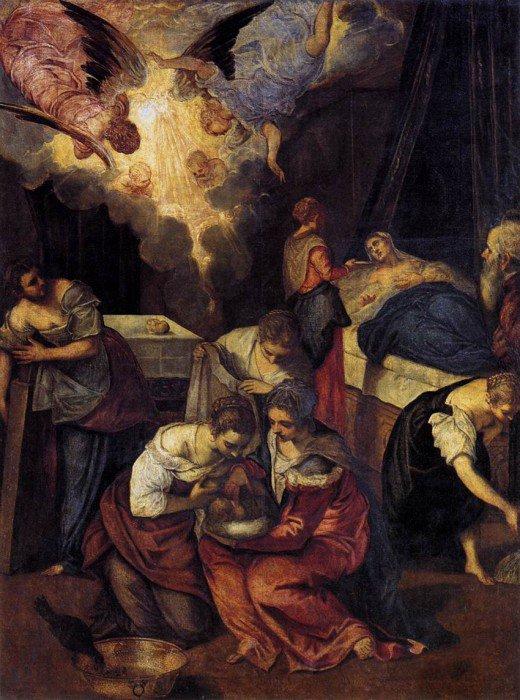 Tintoretto - Birth of St John the Baptist