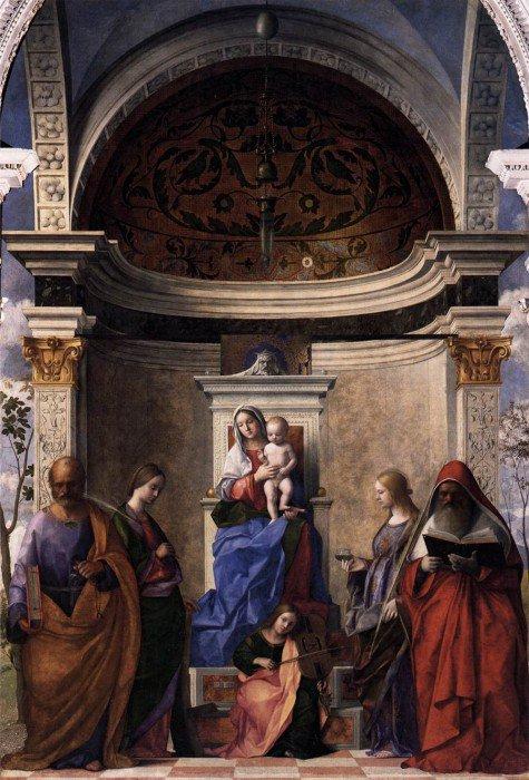 Bellini, Giovanni - San Zaccaria Altarpiece