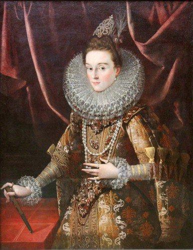 Juan Pantoja de la Cruz - Infanta Isabella Clara Eugenia of Spain