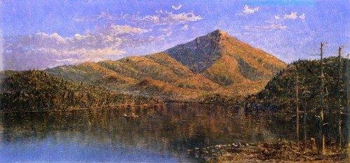 Edith W. Cook - Lake Placid at Twilight