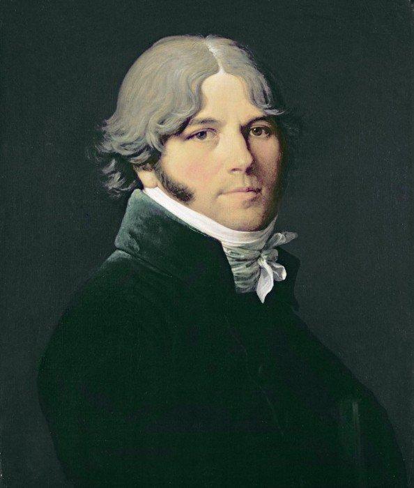 Ingres, Jean-Auguste-Dominique - Portrait of the Artist's Father