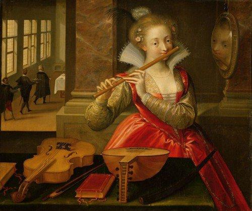 Dirk de Quade van Ravesteyn - Allegory of Music