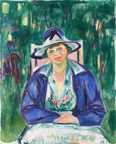 Edvard Munch - Maria Agatha Meier