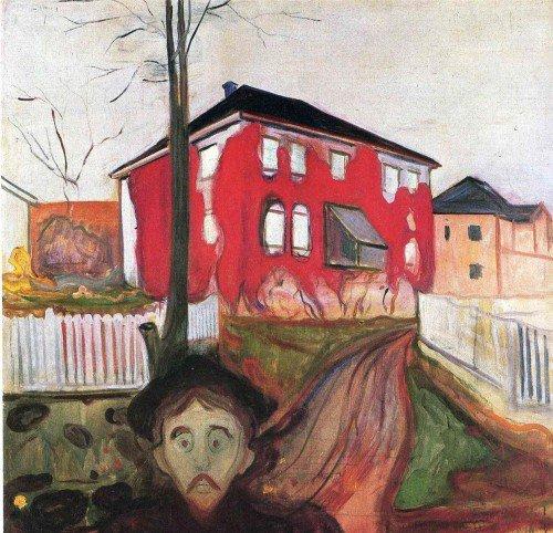 Edvard Munch - Red Virginia Creeper