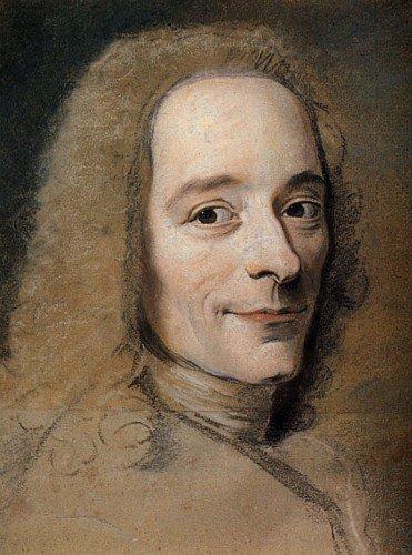 Maurice Quentin de La Tour - Voltaire