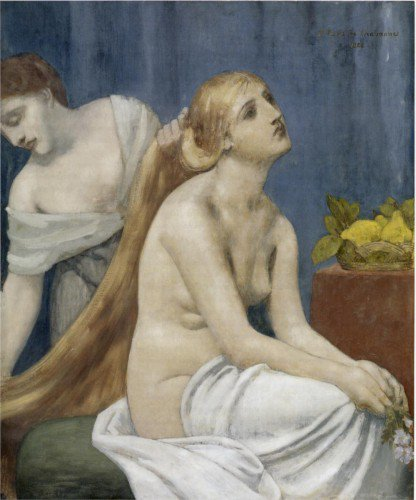 Pierre Puvis de Chavannes - The Toilette