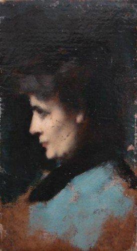 Jean-Jacques Henner - Eugénie-Marie Gadiffet-Caillard
