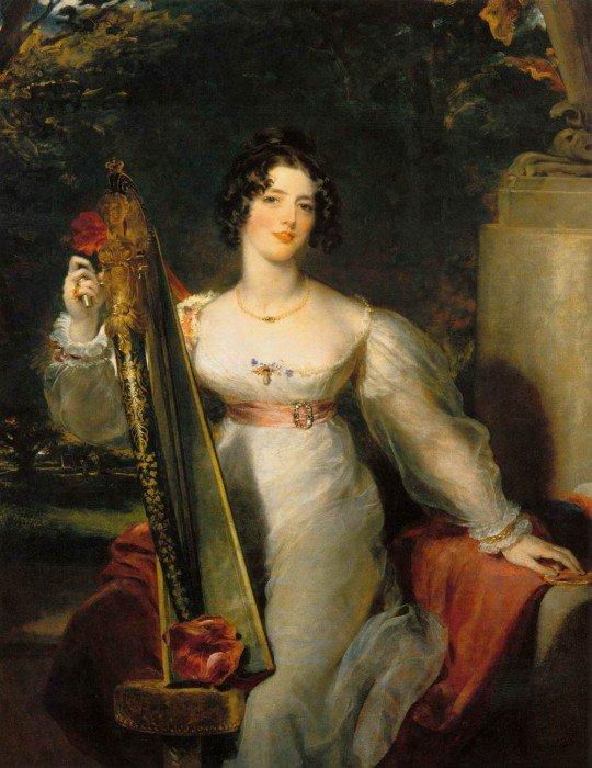 Lawrence, Sir Thomas - Portrait of Lady Elizabeth Conyngham