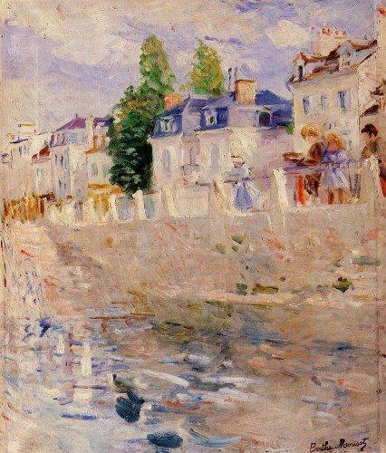 Berthe Morisot - The Quay at Bougival