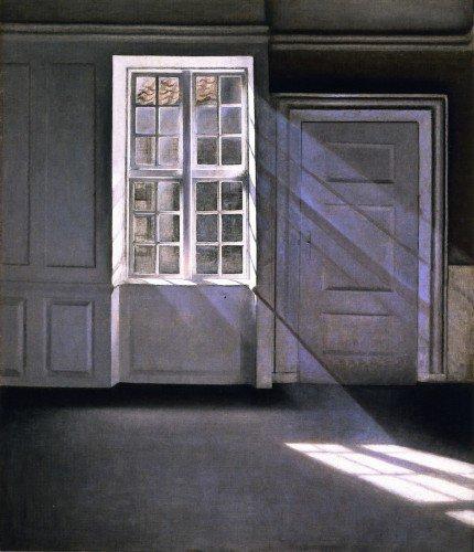 Vilhelm Hammershøi - Sunbeams