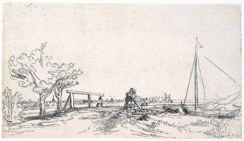 Rembrandt van Rijn - Six's Bridge