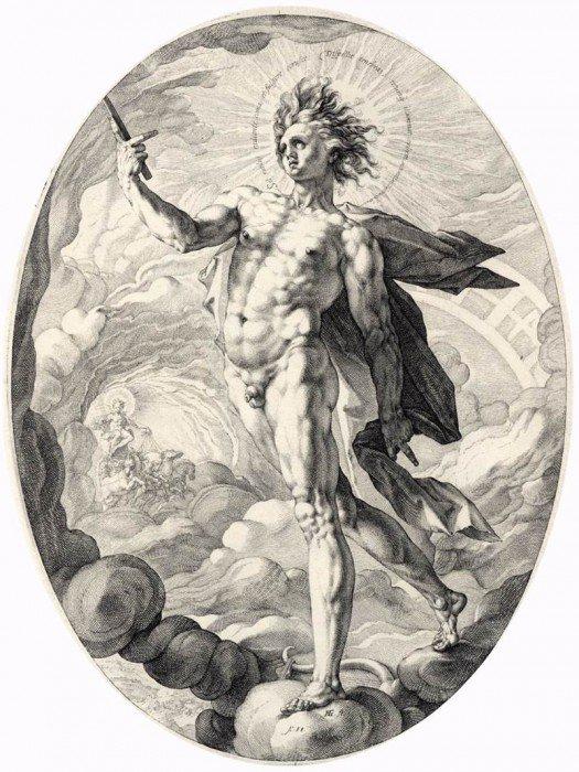 Goltzius, Hendrick - Apollo