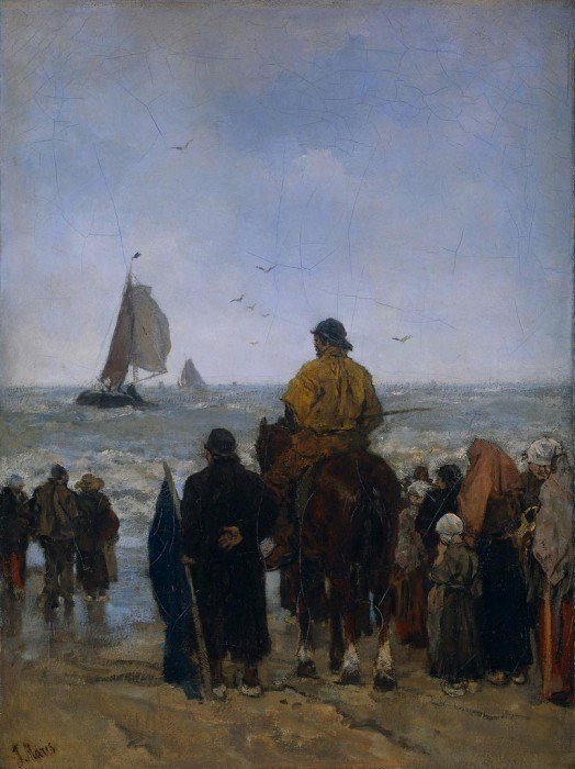 Maris, Jacob Henricus - Arrival of the Fishers' Boats