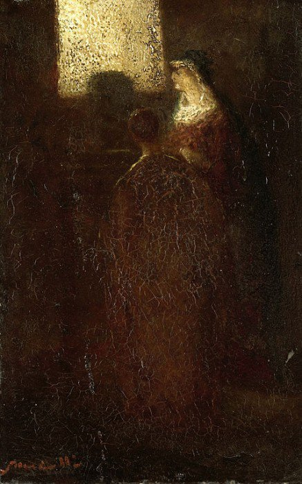 Monticelli, Adolphe - At the Altar
